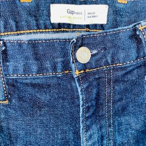 Gap Men's Skinny Blue Jeans